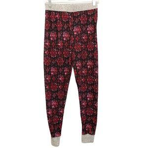Cuddl Duds Floral Print Jogger Pajama Pants